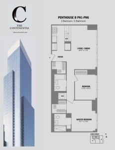 Penthouse B PH1-PH6