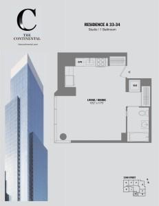 Residence A Floors 33-34
