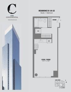 Residence B Floors 10-32