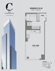Residence B Floors 35-38