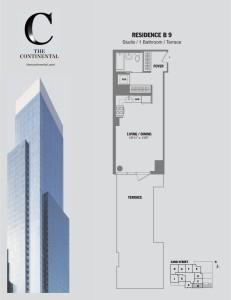 Residence B Floor 9