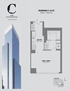 Residence C Floors 10-23