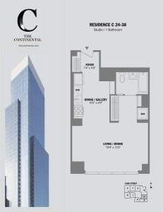 Residence C Floors 24-38
