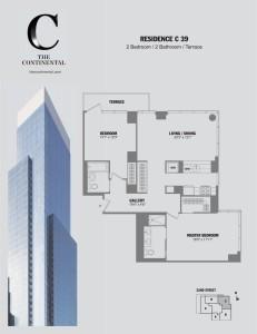Residence C Floor 39