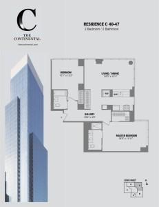Residence C Floors 40-47