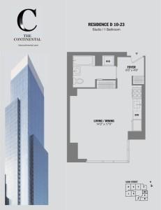 Residence D Floors 10-23