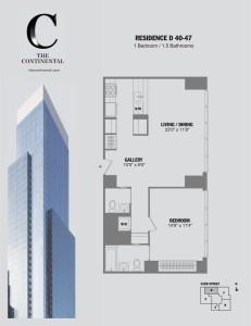 Residence D Floors 40-47
