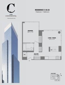 Residence E Floors 10-23