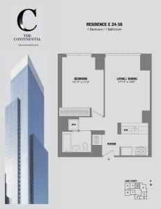 Residence E Floors 24-38