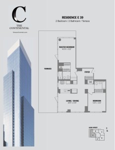 Residence E Floor 39