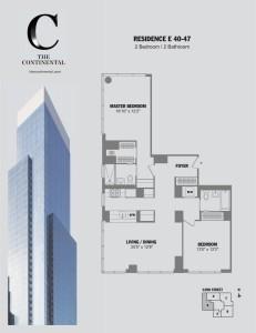 Residence E Floors 40-47