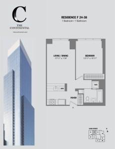 Residence F Floors 24-38