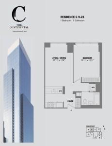 Residence G Floors 9-23