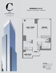 Residence H Floors 14-15