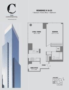 Residence H Floors 16-23