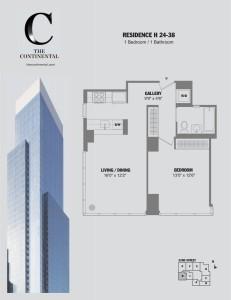 Residence H Floors 24-38
