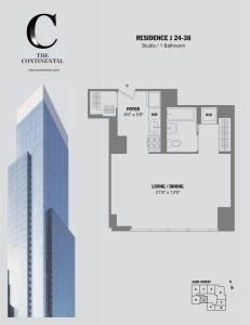 Residence J Floors 24-38